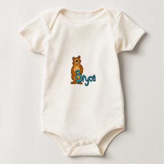 Body Para Bebê Bebê com nome, Creeper de Bryce