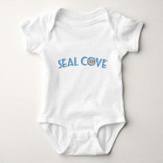 Body Para Bebê Bebê da angra do selo de uma peça só