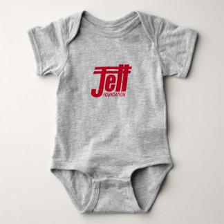 Body Para Bebê Bebê da fundação de Jett de uma peça só