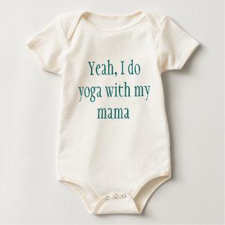 Body Para Bebê Bebê da ioga