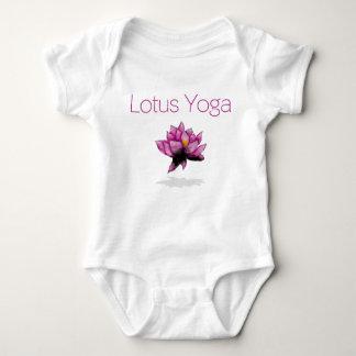 Body Para Bebê bebê da ioga dos lótus