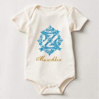 Body Para Bebê Bebê da onça Munchkin do vintage