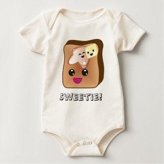 Body Para Bebê Bebê da rabanada do docinho