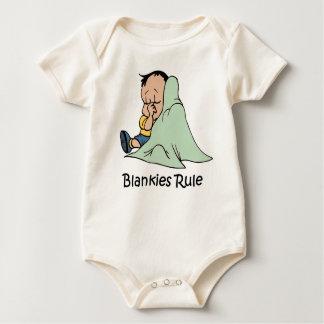 Body Para Bebê Bebê da regra de Blankies