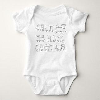Body Para Bebê Bebê de 9 motores uma parte