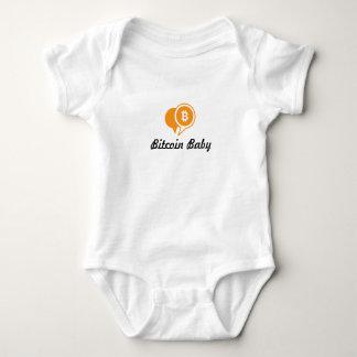 Body Para Bebê Bebê de Bitcoin de uma peça só