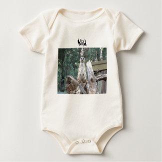 Body Para Bebê Bebê de Meerkat