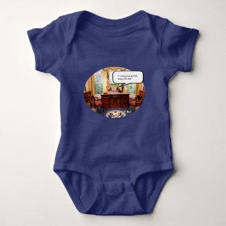 Body Para Bebê Bebê de Trumpy no escritório - Bodysuit do jérsei