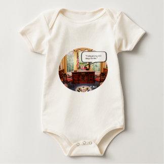 Body Para Bebê Bebê de Trumpy no escritório - roupa americano
