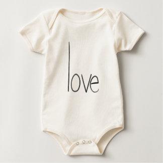 Body Para Bebê bebê do amor uma parte 6 meses