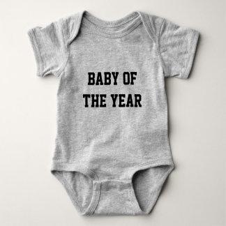 Body Para Bebê Bebê do Bodysuit do ano