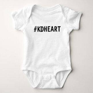 Body Para Bebê Bebê do coração de KD