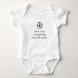 Body Para Bebê Bebê do futebol
