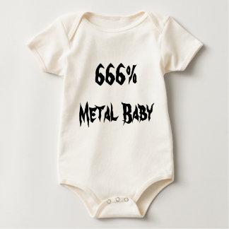 Body Para Bebê Bebê do metal