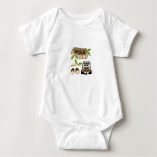 Body Para Bebê bebê do safari