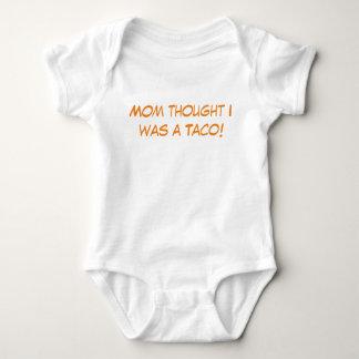 Body Para Bebê Bebê do Taco