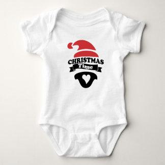 Body Para Bebê bebê do tempo do Natal