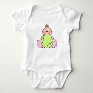 Body Para Bebê Bebé do tênis de Lil