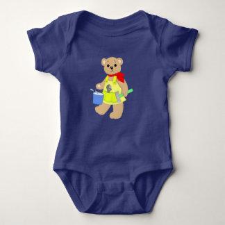 Body Para Bebê Bebê do ursinho do carpinteiro