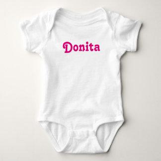 Body Para Bebê Bebê Donita da roupa