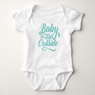 Body Para Bebê Bebê é Bodysuit exterior frio