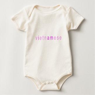 "Body Para Bebê Bebé ""eu sou vietnamiano """