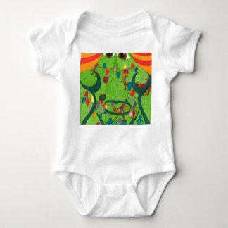 Body Para Bebê bebê feio 2017 onesy do Natal