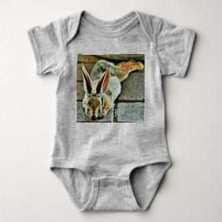Body Para Bebê Bebê feito sob encomenda de sono do coelho um