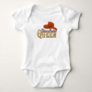 Body Para Bebê Bebê futuro da rainha do rodeio