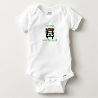 Body Para Bebê Bebê futuro do alador do registro que conduz o