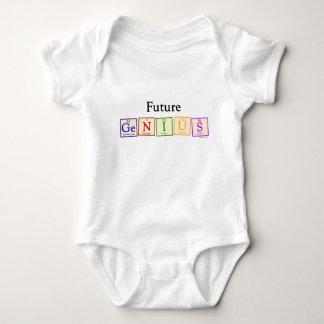 Body Para Bebê Bebê futuro do gênio