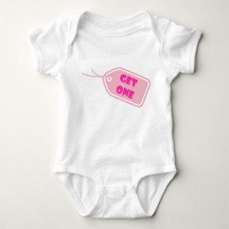 Body Para Bebê Bebê Get1 gêmeo Romper-cor-de-rosa