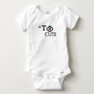 Body Para Bebê Bebê infantil Onsie - Sr. Demasiado Bonito