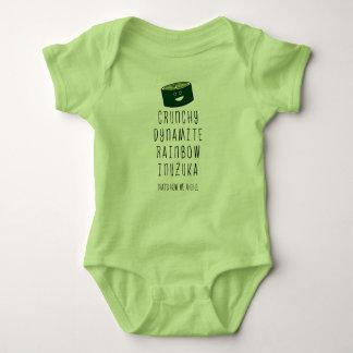 Body Para Bebê Bebê Inuzuka. Isso é como nós rolamos