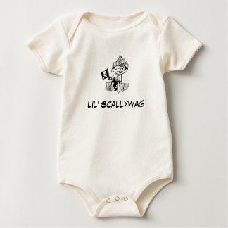 Body Para Bebê Bebê Lil Scallywag do pirata