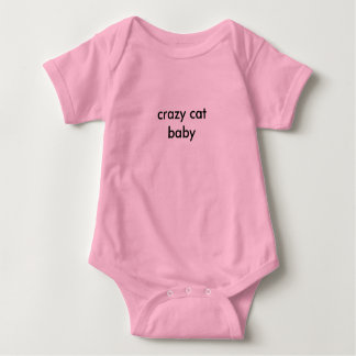 Body Para Bebê bebê louco do gato