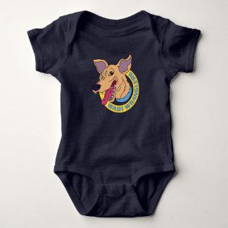 Body Para Bebê Bebê maravilhoso da aventura dos Wranglers do