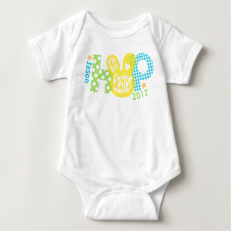 Body Para Bebê Bebé meu primeiro Bodysuit da páscoa