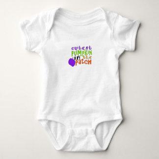 Body Para Bebê Bebê o Dia das Bruxas, abóbora, o Dia das Bruxas