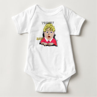 Body Para Bebê Bebê Onsie de Trumpy eu sou corredor ocupado o