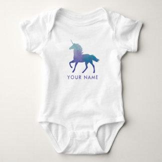 Body Para Bebê Bebê Onsie do unicórnio