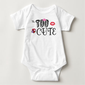 Body Para Bebê Bebê Onsie infantil - Senhora Demasiado Bonito