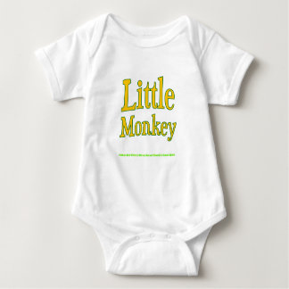 Body Para Bebê Bebê pequeno Onesy do macaco