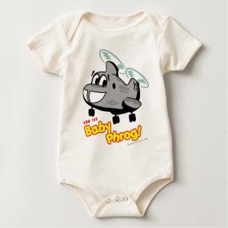 Body Para Bebê Bebê Phrog da Cheio-Cor