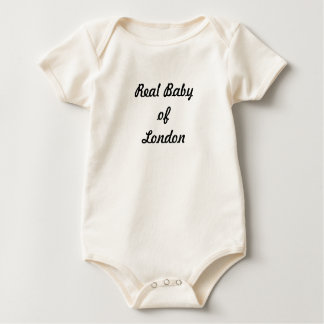 Body Para Bebê Bebê real de Londres: Um grande presente!