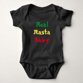 Body Para Bebê Bebê real de Rasta