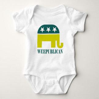 Body Para Bebê Bebê republicano