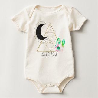 Body Para Bebê Bebê sagrado da geometria feito da mágica.