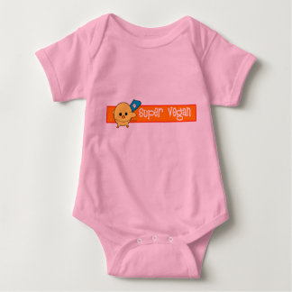 Body Para Bebê Bebê super da maravilha da soja do Vegan