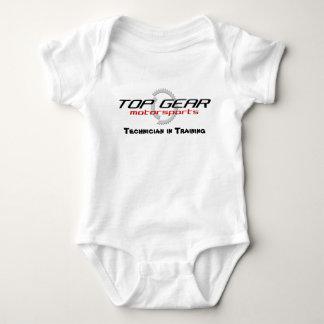 Body Para Bebê Bebê superior do treinamento da engrenagem